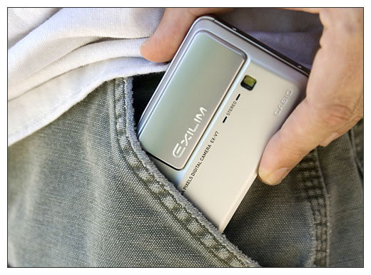 Casio Exilim EX-V7 Pocket-Sized Digital Camera