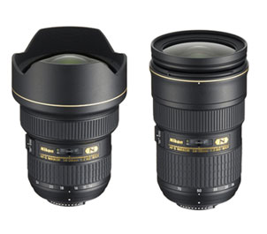 Nikon AF-S NIKKOR 14-24mm f/2.8 and 24-70mm f/2.8 Zoom Lenses