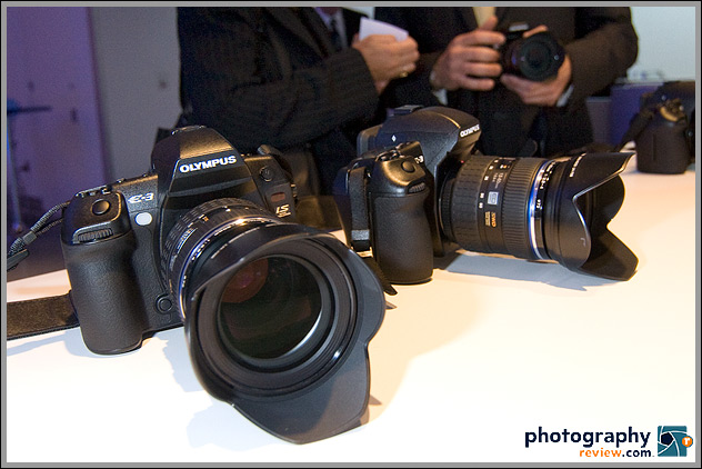 Olympus E-3 Digital SLR at Introduction Event