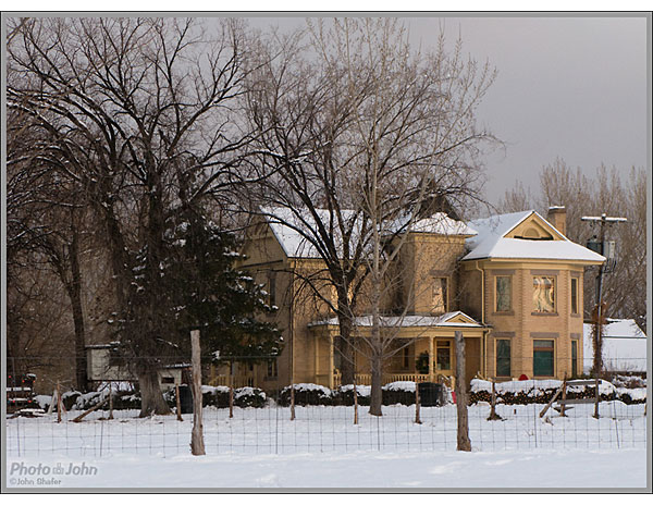 Canon PowerShot G9 - Pioneer Farmhouse