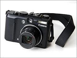 Canon PowerShot G9 lens