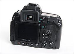 Olympus E-3 back controls