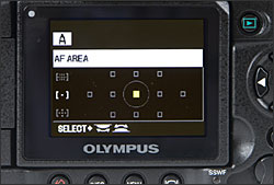 Olympus E-3 - LCD Display