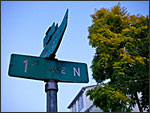 Pentax Optio W30 - Street sign
