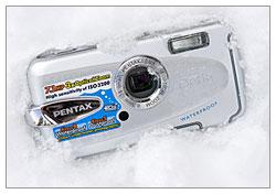 Pentax Optio W30 - Weatherproof
