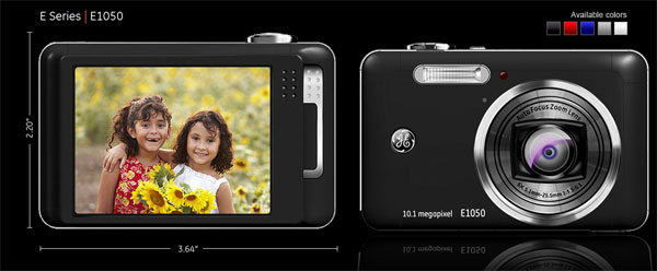 GE E1050 Digital Camera • Camera News and Reviews