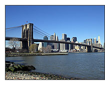Casio Exilim EX-Z77 - Brooklyn Bridge - © 2008 Patia Stephens