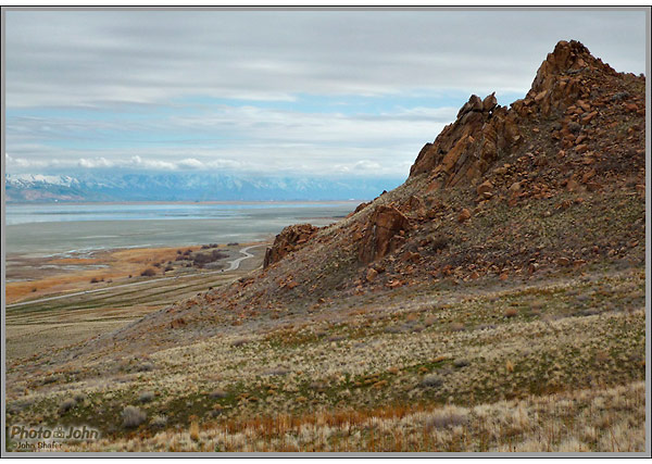 Panasonic Lumix DMC-FX35 Sample Photo - Antelope Island