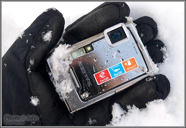 Olympus Stylus 1030 SW Digital Camera