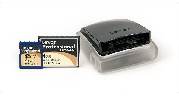 Lexar Professional UDMA USB 2.0 Card Reader