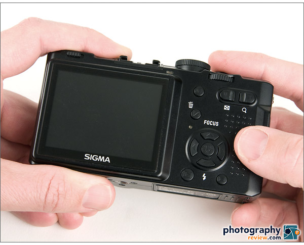 Sigma DP1 LCD and rear controls
