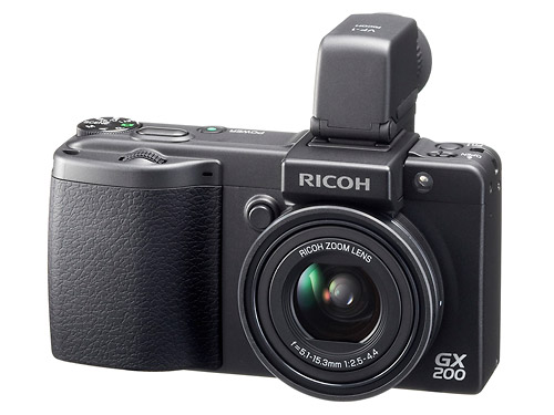 Ricoh GX200 - Optional Viewfinder