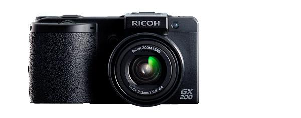 Ricoh GX200 Digital Camera