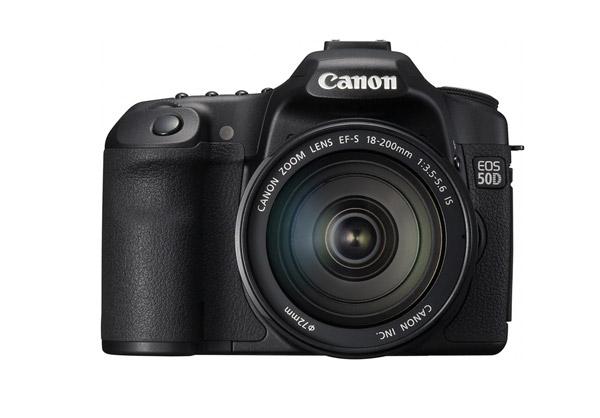 Canon EOS 50D Digital SLR - Front