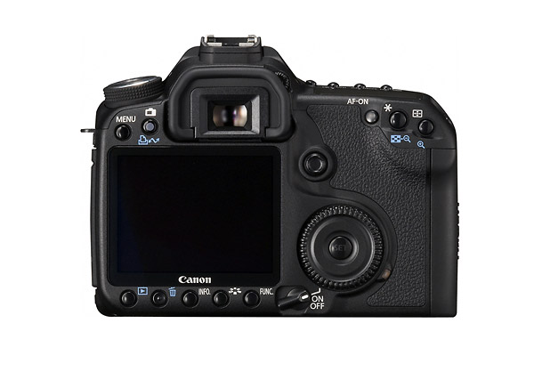 Canon EOS 50D Digital SLR - Rear