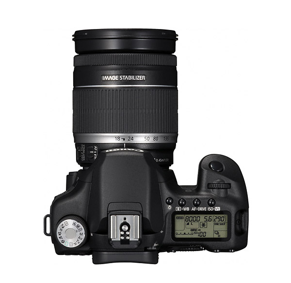 Canon EOS 50D Digital SLR - Top
