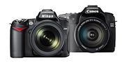Nikon D90 & Canon EOS 50D