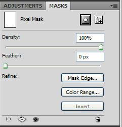 Masks Panel