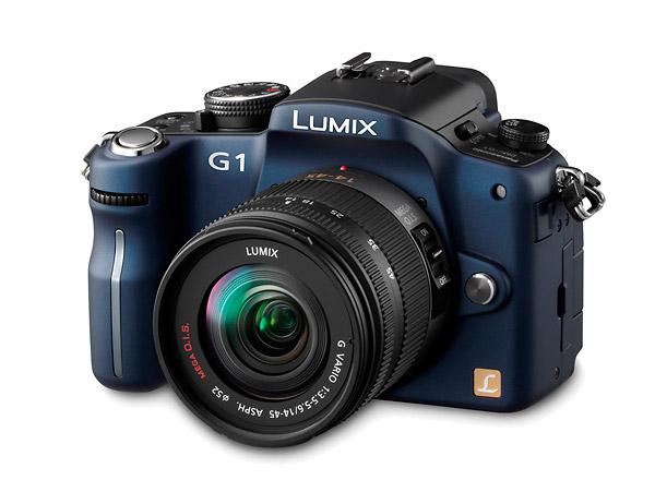 Panasonic Lumix DMC-G1 - Blue