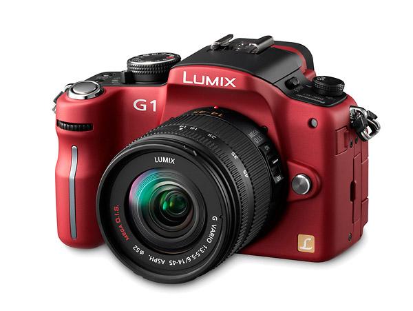 Panasonic Lumix DMC-G1 - Red