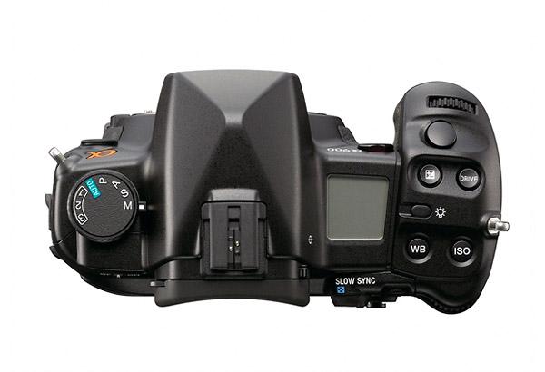 Sony Alpha DSLR-A900 - Top