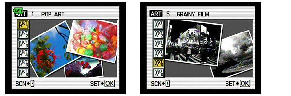 Olympus E-30 Art Filters