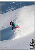 Olympus E-30 Ski Photo