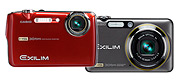 Casio Exilim EX-FS10 & EX-FC100 Digital Cameras