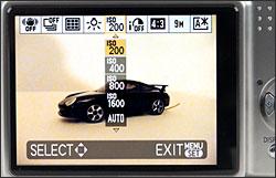 Panasonic Lumix DMC-TZ5 - LCD Display
