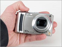 Panasonic Lumix DMC-TZ5 In-hand