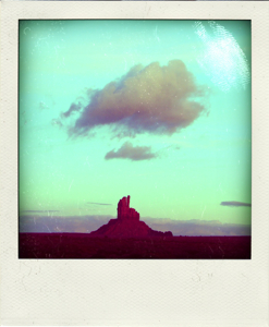 Recreate that '70s road trip you never took with Poladroid.