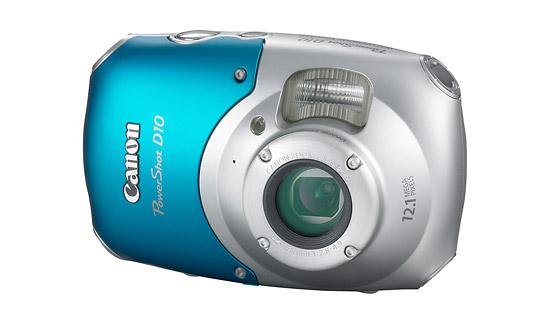 Canon PowerShot D10 - Front