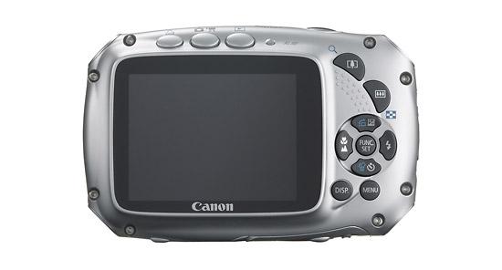 Canon PowerShot D10 - Back