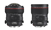 New Canon TS-E 24mm f/3.5L II and TS-E 17mm f/4L Tilt-Shift Lenses