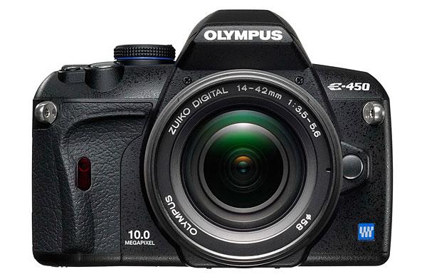 Olympus E-450 Digital SLR - Front