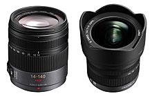 Panasonic Lumix G Vario HD 14-140mm/F4.0-5.8 ASPH./MEGA O.I.S. and the Lumix G Vario 7-14mm/F4.0 ASPH Lenses