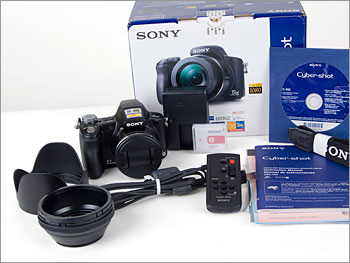 Sony Cybershot DSC-H50 with box