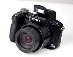 Sony Cybershot DSC-H50 - control button's four-way navigator