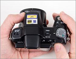 Sony Cybershot DSC-H50 - mode dial