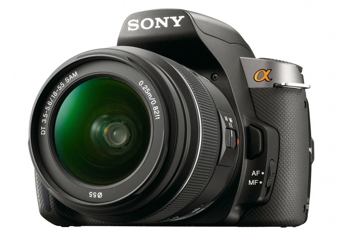 Camera Sony Alpha A230 Dslr Camera sony alpha a380 a330 and a230 dslrs camera news reviews dslrs