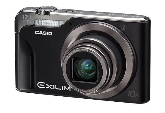 Casio Exilim EX-H10 digital camera - front