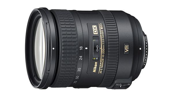 AF-S DX NIKKOR 18-200mm f/3.5-5.6 ED VR II Zoom Lens