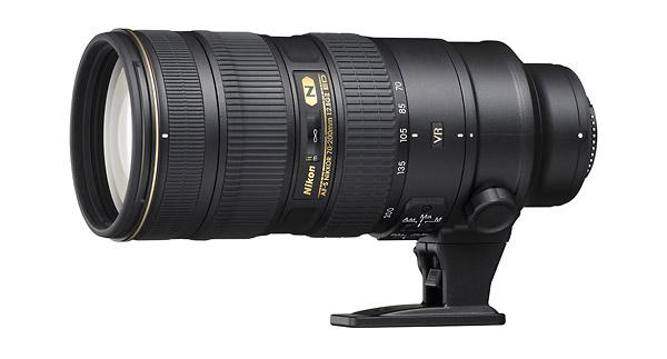 AF-S NIKKOR 70-200mm f/2.8G ED VR II Zoom Lens