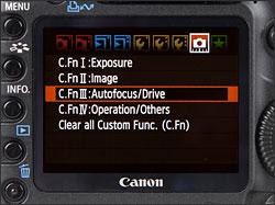 Canon EOS 5D Mark II - LCD Display