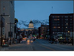 Canon EOS 5D Mark II - Salt Lake City At Night