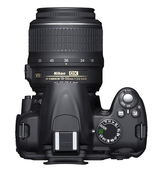 Zoom Nikon D3000 Nikon D3000 Top And Af-s
