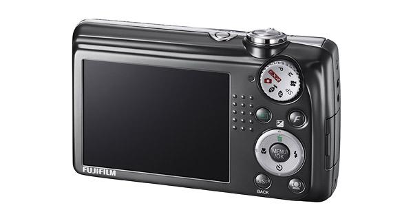 Fujifilm FinePix F70EXR - Rear LCD
