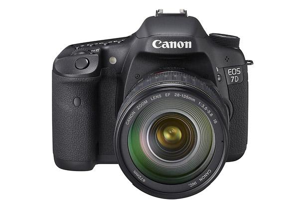 Canon EOS 7D - Front