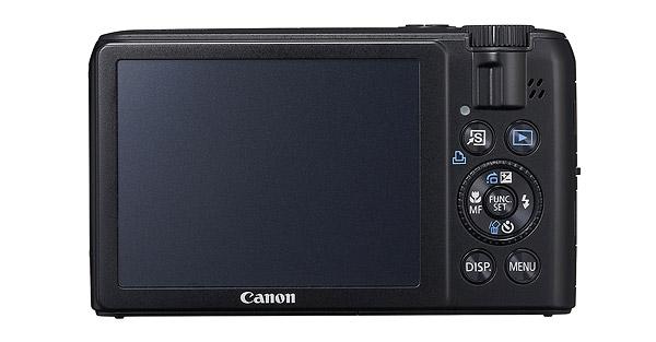 Canon PowerShot S90 - Rear LCD