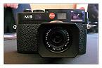 The new 18-megapixel, full-frame Leica M9 digital rangefinder
